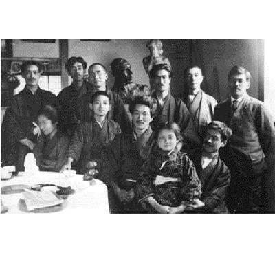 荻原守衛の追悼会での相馬一家と中村屋サロンの若き芸術家たち