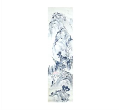 石川侃齋 《山水図》(北方文化博物館蔵)